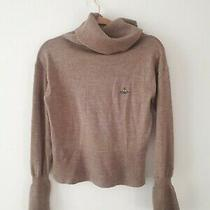 Vivienne Westwood Orb Knitted Roll Neck Jumper Small Photo