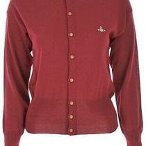 Vivienne Westwood Red Cardigan Size M Rrp 359 Photo