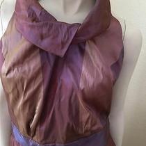 Vivienne Westwood Red Changeant Taffeta Dress 40 4/6 Photo