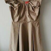Vivienne Westwood Red Label Light Brown/gold Dress Size 42 Uk10 Bnwt Rrp 1050 Photo