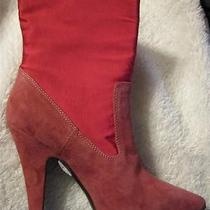 Vivienne Westwood Rose Suede/fabric Ankle Boots - New S/s 2014 Sample - 37/6.5 Photo