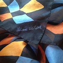 Vivienne Westwood Vintage  Oversized Silk Scarf Shawl  New Italy Photo