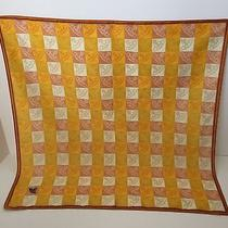 Vivienne Westwood Yellow Orb Square Scarf Photo