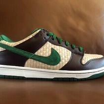 Vnds Men's Nike Dunk Low 6.0 Overcast Hemp Green Sz 10 Shoes Sneaker Sb Hawaii Photo