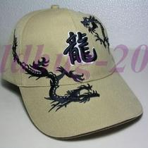 Vogue Classic Fancy Design Pair Cream-Colored  Dragon Hat Photo