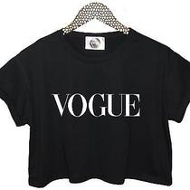 Vogue Crop Top T Shirt Tank Paris Homies Celine More Issues Indie Womens Fashion Photo