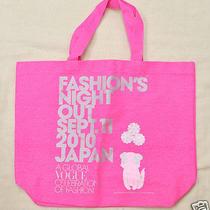 Vogue Fashion's Night Out sept.11 2010 Takashi Murakami Tote Bag Authentic Japan Photo