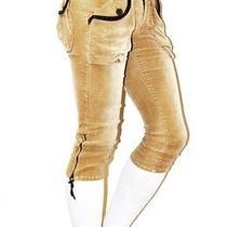 Vogue Japan Fashion Imported Caramel Capri Cropped Paris Pants Balmain Size S Photo