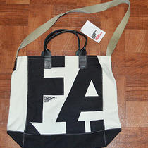 Vogue Ny Fashion's Night Out Official Collection Black & White Canvas Tote Bag  Photo