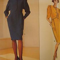 Vogue Sewing Pattern 2337 Dresses by Oscar De La Renta Sz 6 8 10 Photo