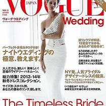 Vogue Wedding vol.3 Magazine Book 2013-14 Designer Dress Rings Bridal Vera Wang Photo