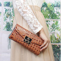 Vogue Women's hand& Shoulder Handbag Wallet Purse Metal Hasp Charming Croc 20a30 Photo