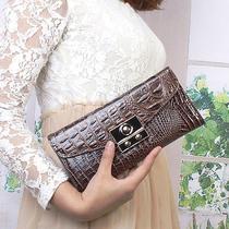 Vogue Women's hand& Shoulder Handbag Wallet Purse Metal Hasp Charming Croc 20a30 Photo