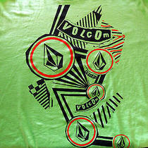 Volcom Art 2xl Green T Shirt  Photo