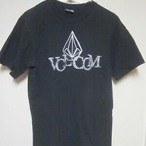 Volcom - Black - T-Shirt - Size M Photo