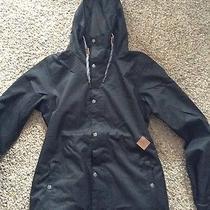 Volcom Bolt Insulated Jacket Black Women's Sz L Photo