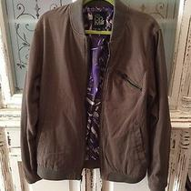 Volcom Briwn Bomber Jacket Size Large  Photo