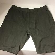 Volcom Dark Gray Shorts True to This Size 38 Cotton Blend Machine Wash Photo