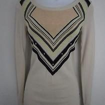 Volcom Fabulous Blush Pink Winter Sweater Love the Print Xs New Photo