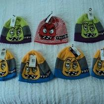 Volcom Faces Beanies Lot of 7 Hats All Nwt  You Get All 7  189 Value Photo