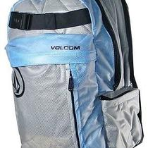 Volcom Gray & Blue Backpack  Photo