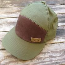 Volcom Green and Brown Hat Photo