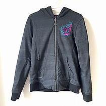 Volcom Hoodie Women's Zipper Sweatshirt Reversible  Photo