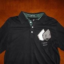Volcom Long Sleeve Double Layer Polo Shirt  Medium M O Element Hurley Photo