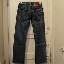Volcom Men's Jeans / Bootcut / Distressed / 28x30   Unique  Rare  Women Photo