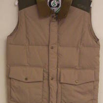 Volcom Men's Recreational Vest  Khaki   Small  Nwt  Photo