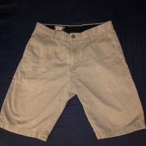 Volcom Men'ssize 30  Chino Shorts Gray Photo
