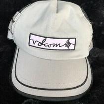 Volcom Mens Mesh  Snapback  2 Tone Skater Hat Cap Baseball Surfer Retro Cool Photo