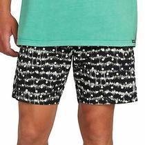 Volcom Mens Swimwear Black Size 2xl Remote Abstract Shorts Trunks 50 291 Photo