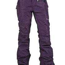 Volcom Modern Straight Women's Snowboarding Pants Purple Xs Photo