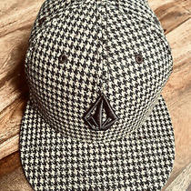 Volcom Plaid Brown 59fifty New Era Baseball Skate Cap Hat 7 5/8 Photo