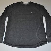 Volcom Skate Dark Gray Skateboard Sweater Youth Boys Kids Size Large L Photo