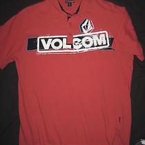 Volcom Skate Shirt (Medium) Surf Golf Polo Photo