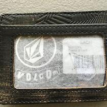 Volcom Tractor Wallet Wood Brown With Clip Photo