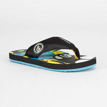 Volcom Vocation Boys Sandals Size 1 Bnwt Photo