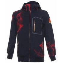 Volcom Wall Softshell Jacket - Men's Size Large L Red Coat -  Snowboard Ski Photo