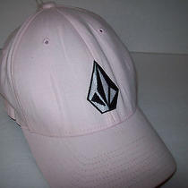 Volcom Women's Pink Ball Cap Hat Photo
