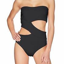 Volcom Women's Swimwear Black Size Xs Seamless One Piece Swimsuit 60 691 Photo