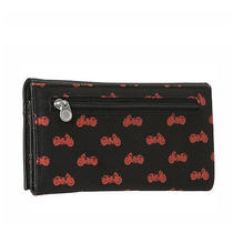 Volcom Womens 'Quite a View' Wallet Purse Black (Bike Print) Photo