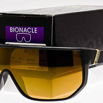 Von Zipper Battlestations Bionacle Sunglasses Black  Gold Chrome Smffcbio-Bkd Photo