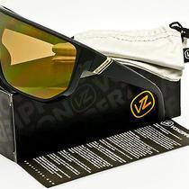 Von Zipper Battlestations Bionacle Sunglasses Black  Gold Chrome Smffcbio-Bkd Photo