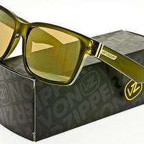 Von Zipper Battlestations Elmore Sunglasses Olive  Gold Chrome Smrfaelm-Olc Photo
