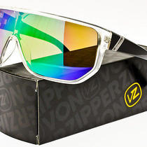 Von Zipper Bionacle Sunglasses Crystal Black / Quasar Chrome Smffcbio-Cyq Photo