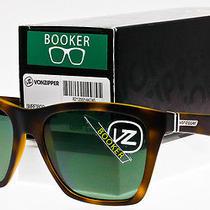 Von Zipper Booker Sunglasses Satin Tortoise Frame  Grey Lens Smrf3boo-Tor Photo
