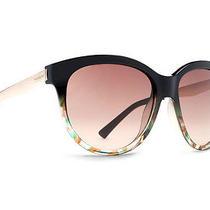 Von Zipper Cheeks Womens Sunglasses Black Muddled Teal / Gradient Sjjf5che-Blt Photo