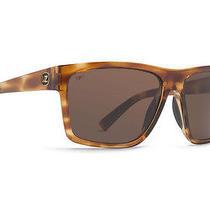 Von Zipper Dipstick Mens Sunglasses New Tortoise Gloss / Bronze Poly Polarized Photo